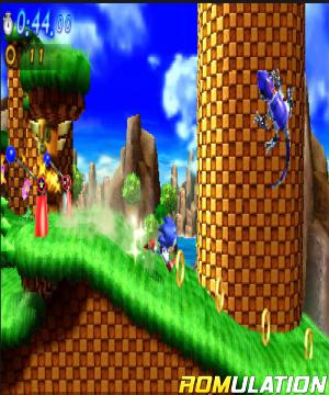 Sonic Generations for 3DS screenshot