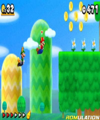 New Super Mario Bros  2 (USA) Nintendo 3DS ROM Download