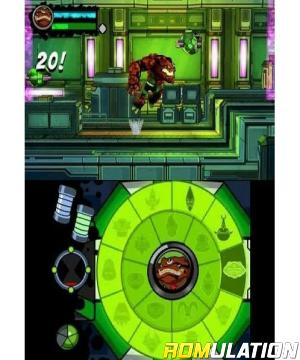Ben 10 - Omniverse 2 for 3DS screenshot
