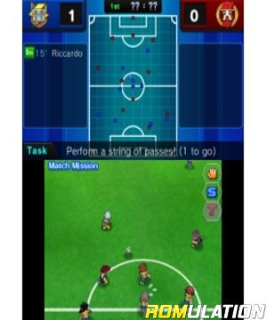 Inazuma Eleven Go - Light for 3DS screenshot
