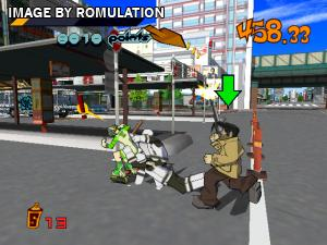 Jet Grind Radio for Dreamcast screenshot