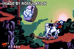 Earthworm Jim for GBA screenshot