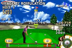 ESPN Final Round Golf 2002 for GBA screenshot
