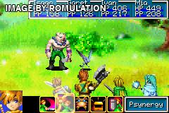 Golden Sun for GBA screenshot