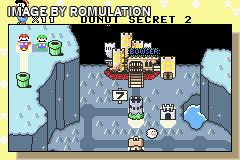 Super Mario Advance 2 - Super Mario World for GBA screenshot