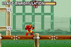 Invincible Iron Man, The for GBA screenshot