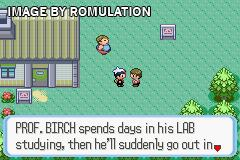 Pokemon - Ruby Version for GBA screenshot