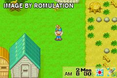 Harvest Moon - Friends of Mineral Town for GBA screenshot