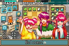 Shining Soul II for GBA screenshot