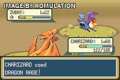 Pokemon - Fire Red Version for GBA screenshot