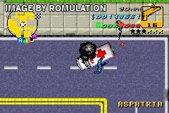 Grand Theft Auto Advance for GBA screenshot