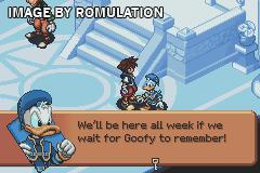 Kingdom Hearts - Chain of Memories for GBA screenshot