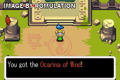 Legend of Zelda, The - The Minish Cap for GBA screenshot