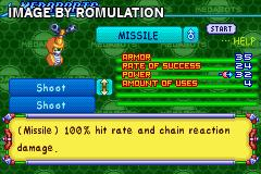 Medabots - Metabee Version for GBA screenshot