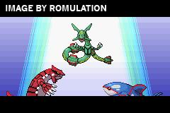 Pokemon - Emerald Version for GBA screenshot