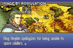 Fire Emblem - The Sacred Stones for GBA screenshot