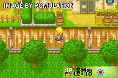 Harvest Moon - More Friends of Mineral Town for GBA screenshot