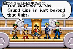 One Piece for GBA screenshot