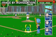 Backyard Sports   Baseball 2007 For GBA Screenshot