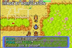 Pokemon Mystery Dungeon - Red Rescue Team for GBA screenshot