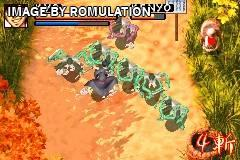 Samurai Deeper Kyo for GBA screenshot