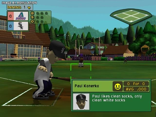 Backyard Sports Baseball 2007 For GameCube Screenshot