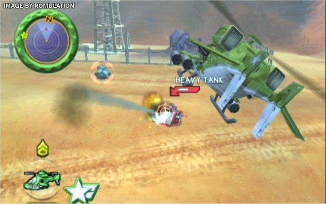 Battalion wars for gamecube screenshot