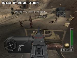 Call of Duty 2 Big Red One for GameCube screenshot