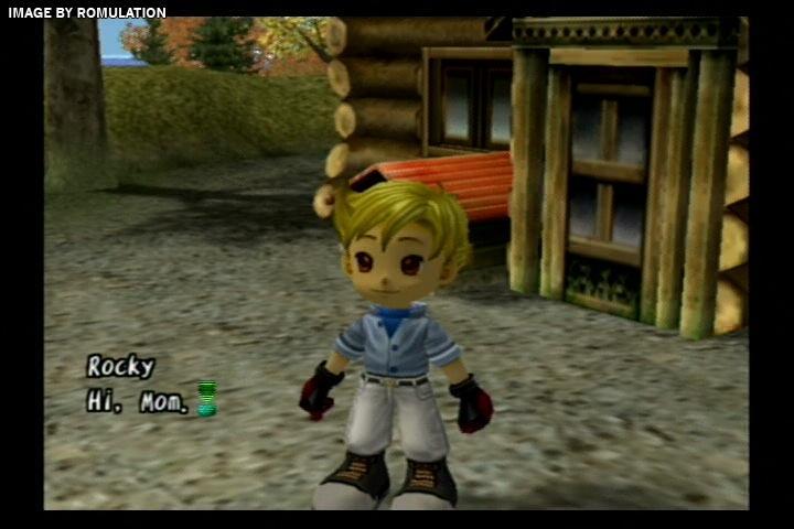 Harvest Moon A Wonderful Life Usa Nintendo Gamecube Ngc Iso