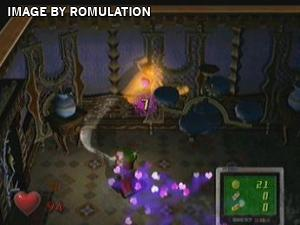 Luigis Mansion for GameCube screenshot