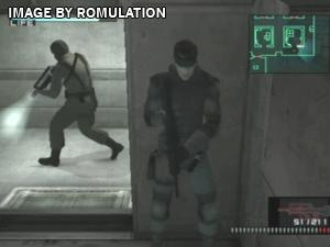 Metal Gear Solid The Twin Snakes Disc 1 for GameCube screenshot