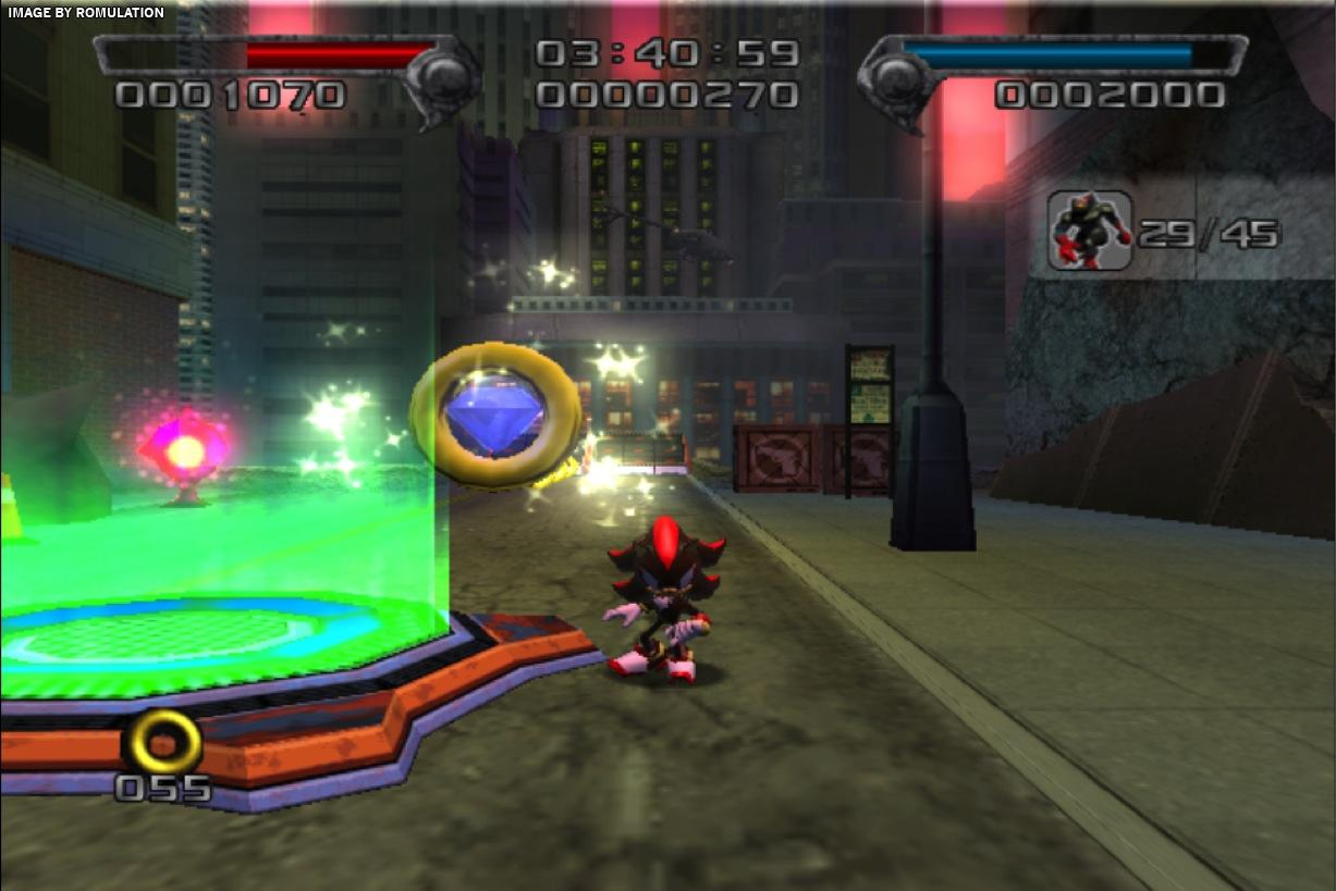 Shadow The Hedgehog Usa Nintendo Gamecube Ngc Iso Download Romulation