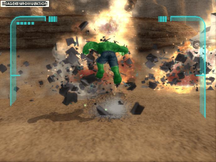 The Incredible Hulk Ultimate Destruction (USA) Nintendo GameCube