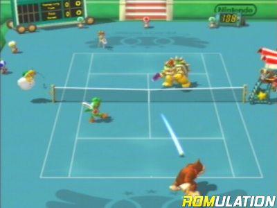 Mario Power Tennis (USA) Nintendo GameCube / NGC ISO