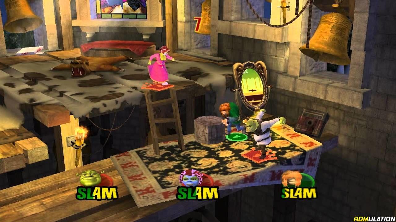 Shrek Superslam Usa Nintendo Gamecube Ngc Iso Download Romulation