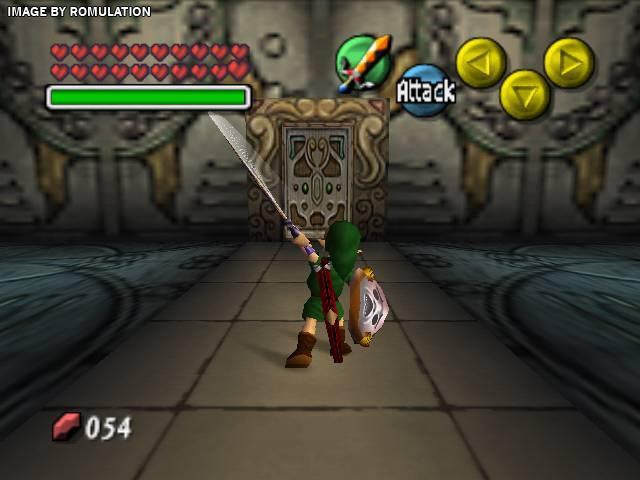 Legend Of Zelda The Majora S Mask Usa N64 Nintendo