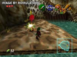 Legend of Zelda, The - Ocarina of Time for N64 screenshot