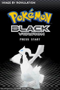 Pokemon Black Version for NDS screenshot