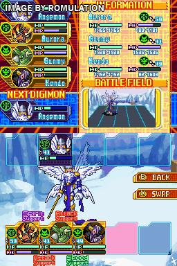 Digimon World - Dawn (USA) NDS / Nintendo DS ROM Download