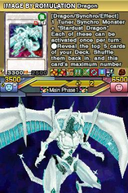 Yu-Gi-Oh 5Ds World Championship 2011 - Over the Nexus for NDS screenshot