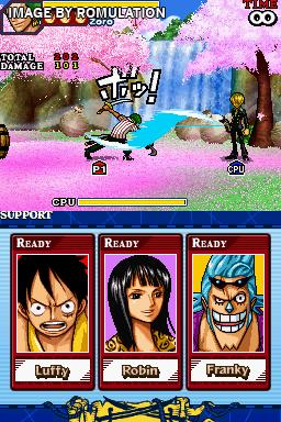 gratuit one piece gigant battle ds