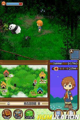 Harvest Moon DS - The Tale of Two Towns (USA) NDS