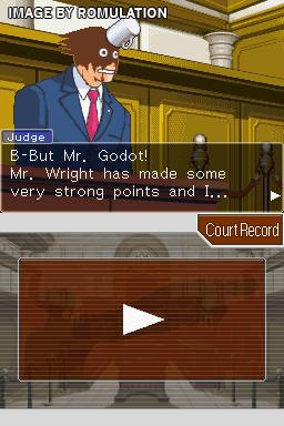 Phoenix Wright - Ace Attorney - Trials and Tribulations  for NDS screenshot