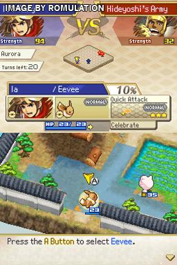 Pokemon Conquest for NDS screenshot