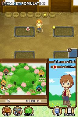 Harvest Moon DS - The Tale of Two Towns (Europe) NDS