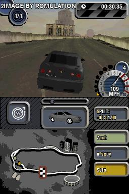 Need for Speed - Most Wanted  for NDS screenshot