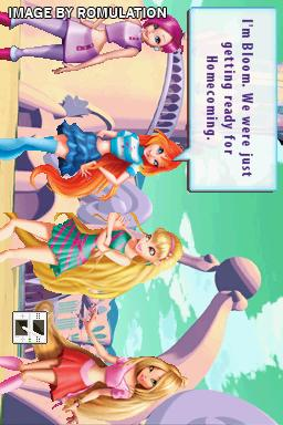 Winx Club - Magical Fairy Party for NDS screenshot