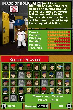 Backyard Baseball U002709 For NDS Screenshot