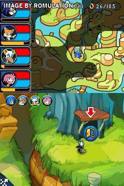 Sonic Chronicles - The Dark Brotherhood (USA) NDS / Nintendo DS ROM
