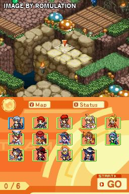 Luminous Arc 2  for NDS screenshot
